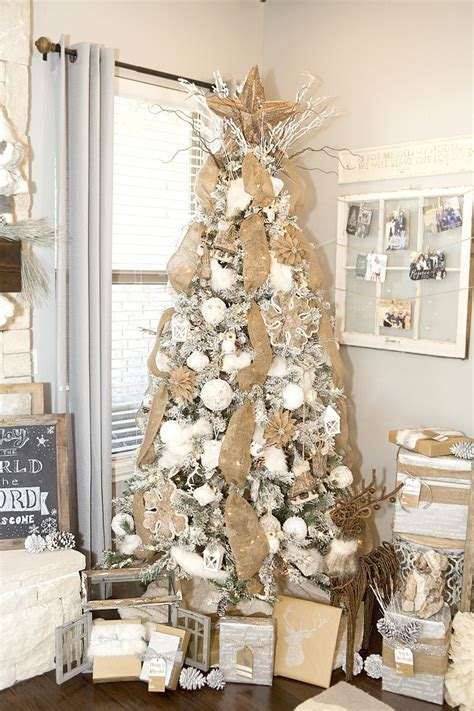 Rustic Tree Decorations by Yay It Is Time To Decorate For I