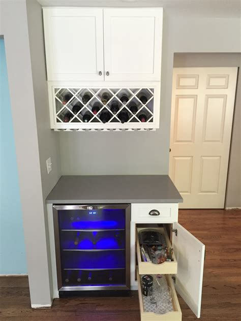 white wine rack cabinet white kitchen cabinets with gray island tacoma wa