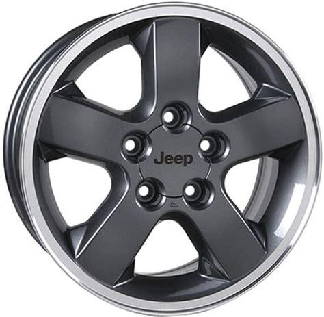 Mopar Jeep Wheels Mopar 5hf55zdraa Mopar 174 17x7 5 Quot Rogue Cast Aluminum