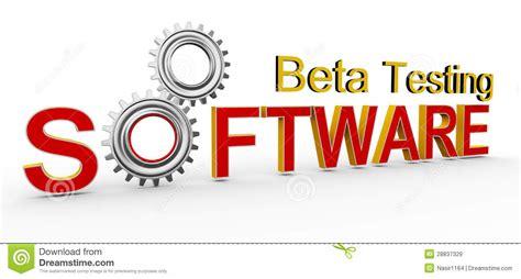 beta test 3d software beta testing royalty free stock images image