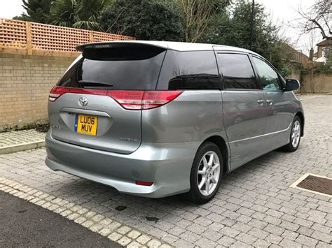 Toyota Estima Used Grey Silver Toyota Estima For Sale Essex