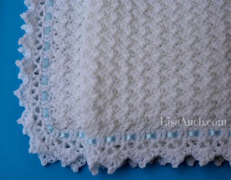Free Crochet Patterns For Babies Blankets by Clouds Baby Blanket Free Crochet Pattern