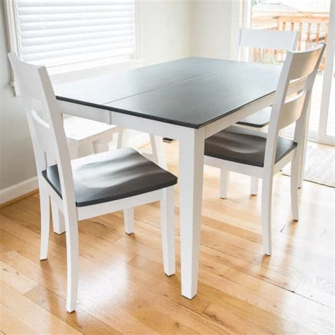 white stain on wood table the grey wood stain dining table makeover the