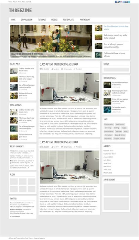 psd magazine template 40 free professional psd website templates for