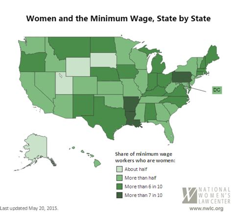 minimum wage in every state and the minimum wage state by state nwlc