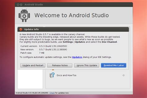 how to update android install android studio in ubuntu via ppa web upd8 ubuntu linux