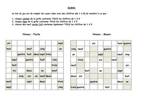 printable sudoku topical french sudoku puzzle by elle25 teaching resources tes