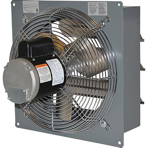 canarm wall exhaust fan canarm standard wall exhaust fan 12in single speed 1