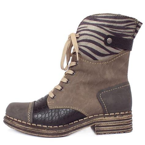womens winter fashion boots rieker sabatini y9624 46 s fashion combat winter