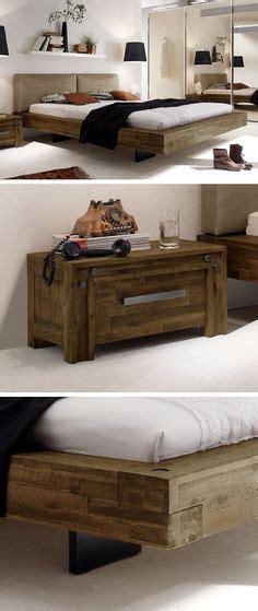 bett schwebend balkenbett haineck modern wood bed designs diy