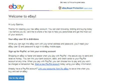 ebay new account how to open an ebay account 13 steps with pictures