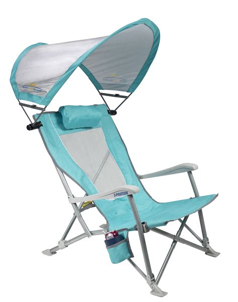 gci outdoor wilderness recliner chair reclining beach chair with sunshade gci outdoor