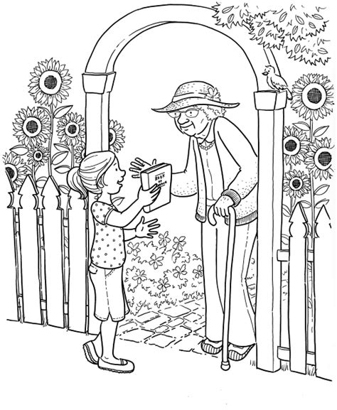Meaningful Coloring Pages