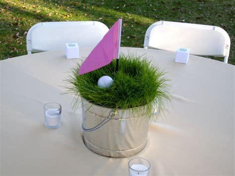 golf themed decor table favors for golf invitations ideas