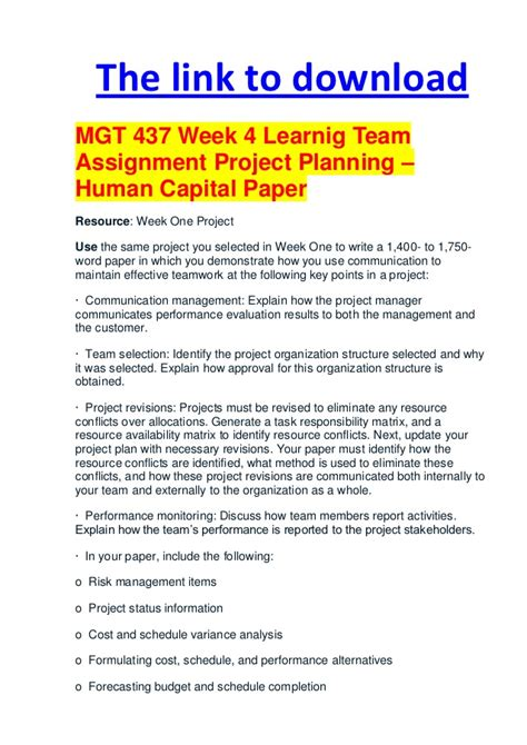Managing Human Capital Mba Assignment by 155 Week 4 Transcript Aglobeforus