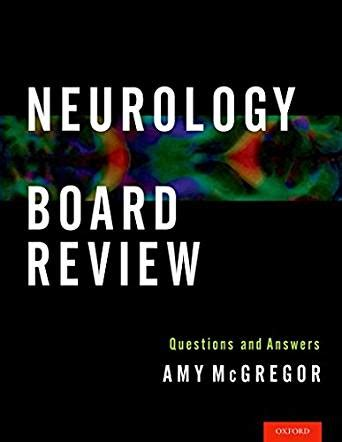 neurology board review questions  answers kindle edition  amy mcgregor professional