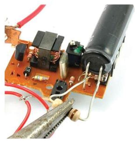 test smd capacitor in circuit testing electronic components