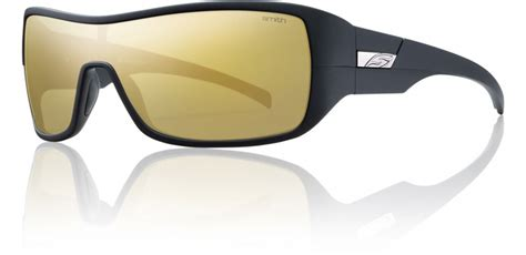 matte black color code smith optics stronghold sunglasses