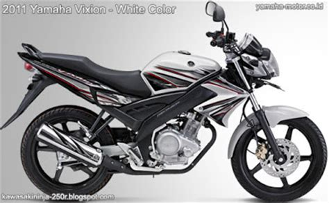 Kaos Yamaha Vixion New White Edition new yamaha vixion 2012 2013 edition new born motorcycles and 250