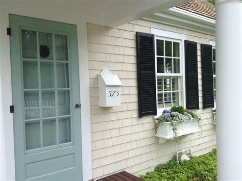 Door Colors For White House best 25 black shutters ideas on pinterest home exterior