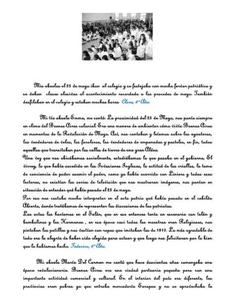 palabras alusivas 25 de mayo bicentenario palabras alusivas del 25 de mayo nivel inicial palabras