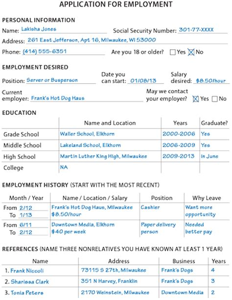 Job Resume Sample For First Job by Job Searching Thoughtful Learning Curriculum For 21st