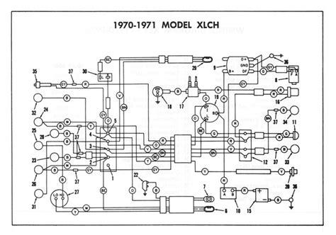 1973 sportster wiring diagram wiring diagrams 1973