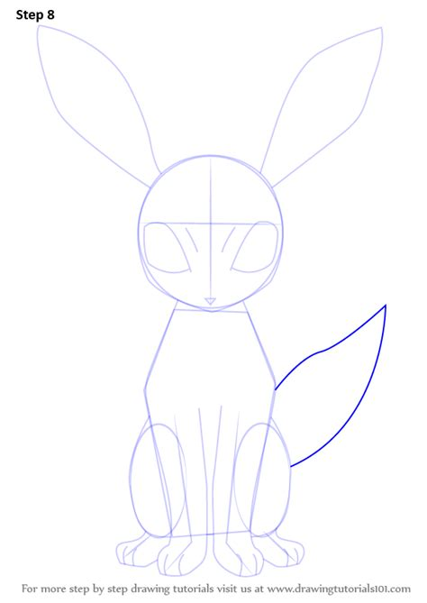 step by step learn how to draw umbreon from step by