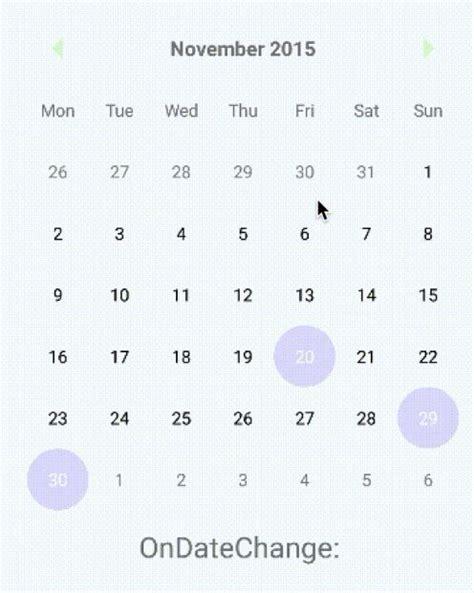 layout animation react native material inspired calendar for react native reactscript