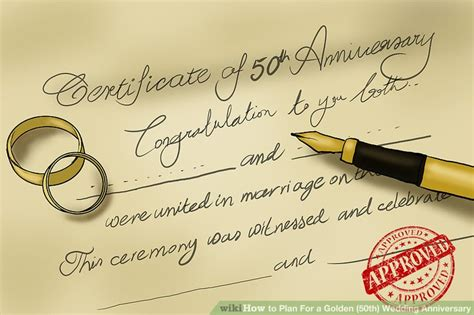50th Wedding Anniversary Songs Country by 3 Ways To Plan For A Golden 50th Wedding Anniversary