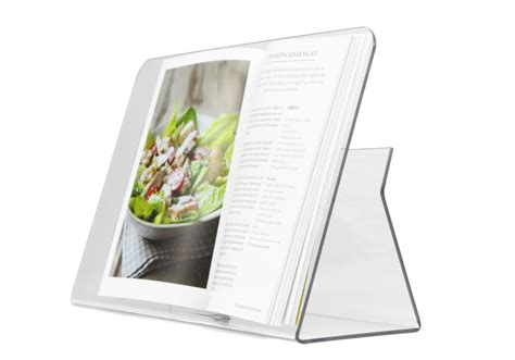 Cookbook Stands For Kitchen by Plastic Acrylic Uk Shop Acrylic Retail