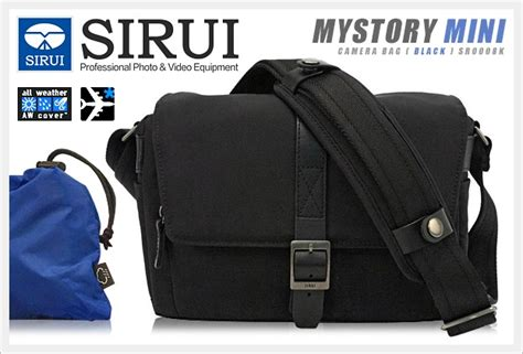 Sirui Slinglite 8 Black sirui bag seedcamera