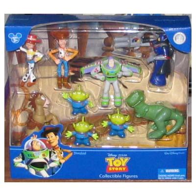 disney figurine set toy story