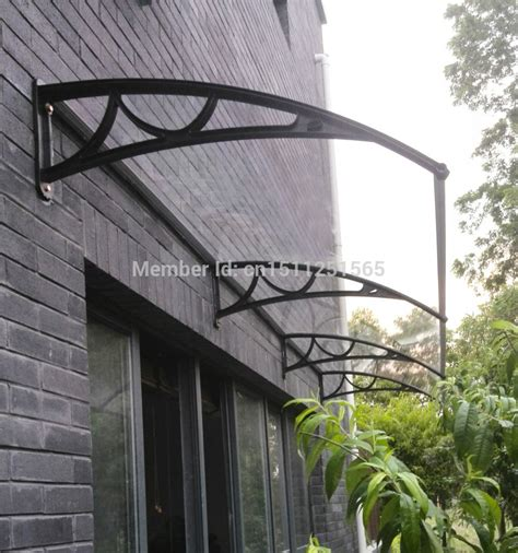 polycarbonate window awnings french door awning images polycarbonate awning door