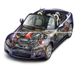 What Does Automotive Engineering Consist Of Automotive Illustration Cutaway Ghosted And Automotive