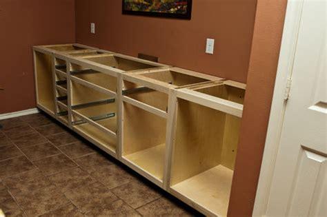 custom buffet  basic cabinet construction complete