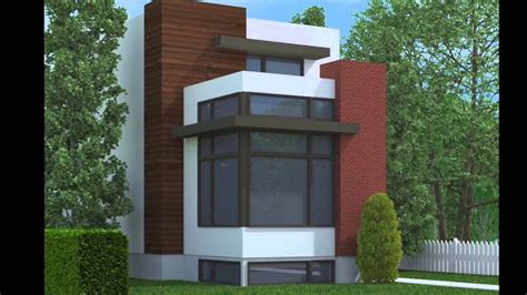 Narrow Lot Modern Infill House Plans Best Of Contemporary Narrow Lot Modern Infill House Plans