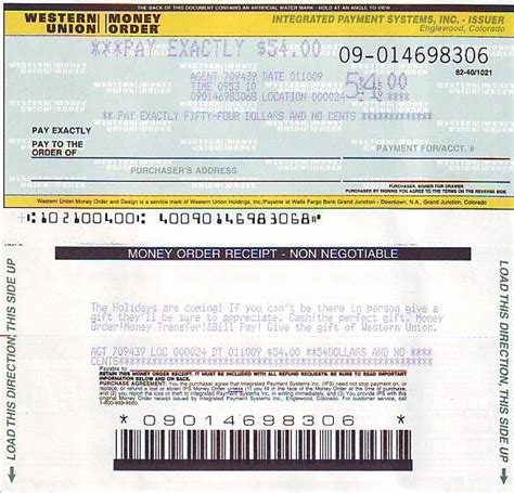 western union receipt template blank money order template portrayal receipt best of