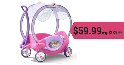 chariot wagen kohl s promo codes disney princess chariot wagon for 59