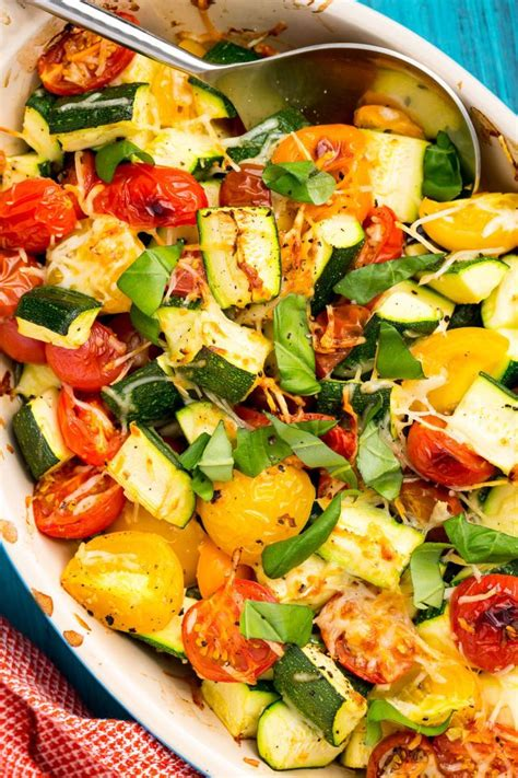 the 55 most delish easy summer side dishes zucchini zucchini tomato and tomatoes