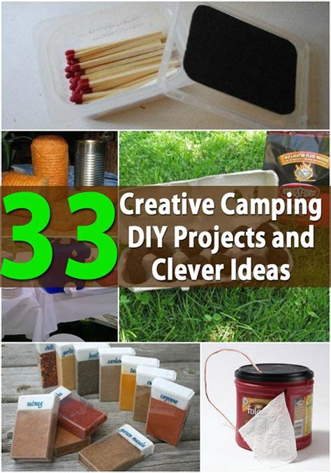 clever diy home ideen 33 most creative cing diy projects and clever ideas