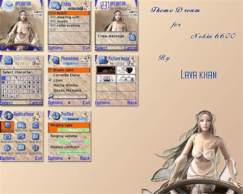 themes untuk nokia 6600 theme dream for nokia 6600 by lavakhan on deviantart