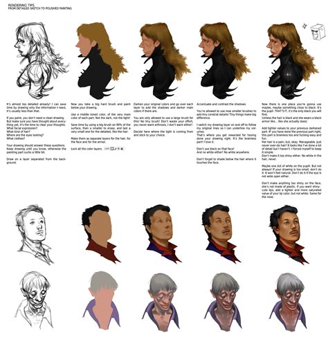 sketchbook pro coloring rendering tips by smirtouille on deviantart