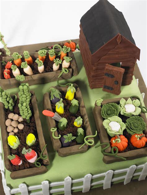 vegetable garden cake cake ideas