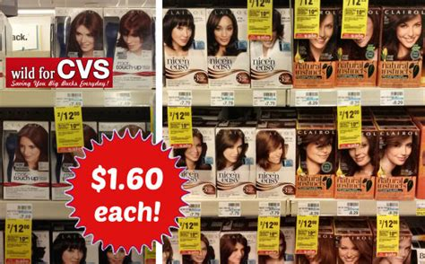 hair dye coupons 9 coupons discounts december 2015 cvs 1 60 clairol hair color 6 value thru 5 9