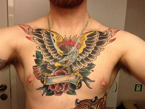 last sparrow tattoo sylvia eagle chest picture gallery
