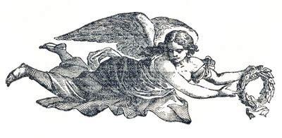 vintage clip art angels sheet