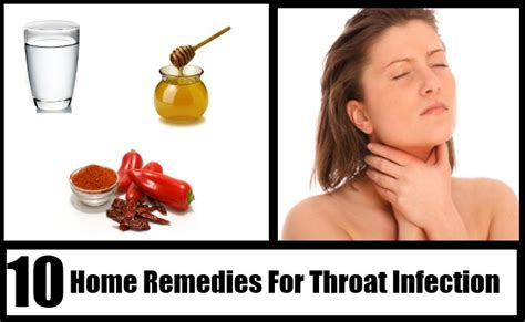 top 10 home remedies for throat infection