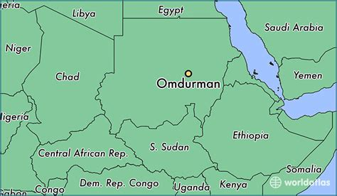 omdurman map where is omdurman the sudan where is omdurman the