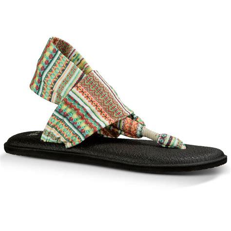 s two sandals sanuk women s sling 2 prints sandals citrus lanai
